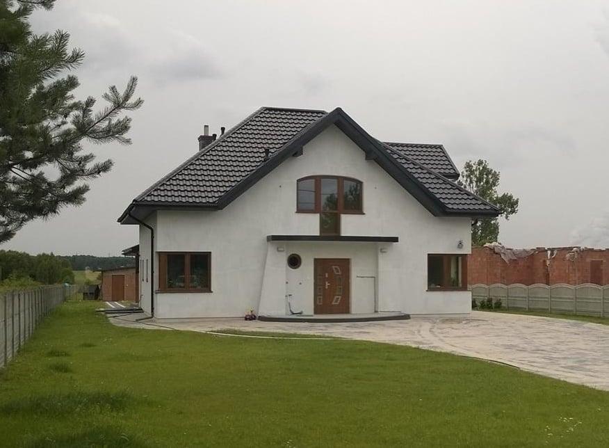 projekty domów Bełchatów